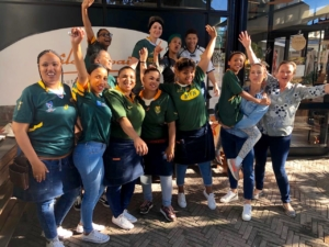 Springboks' glorious World Cup rugby win